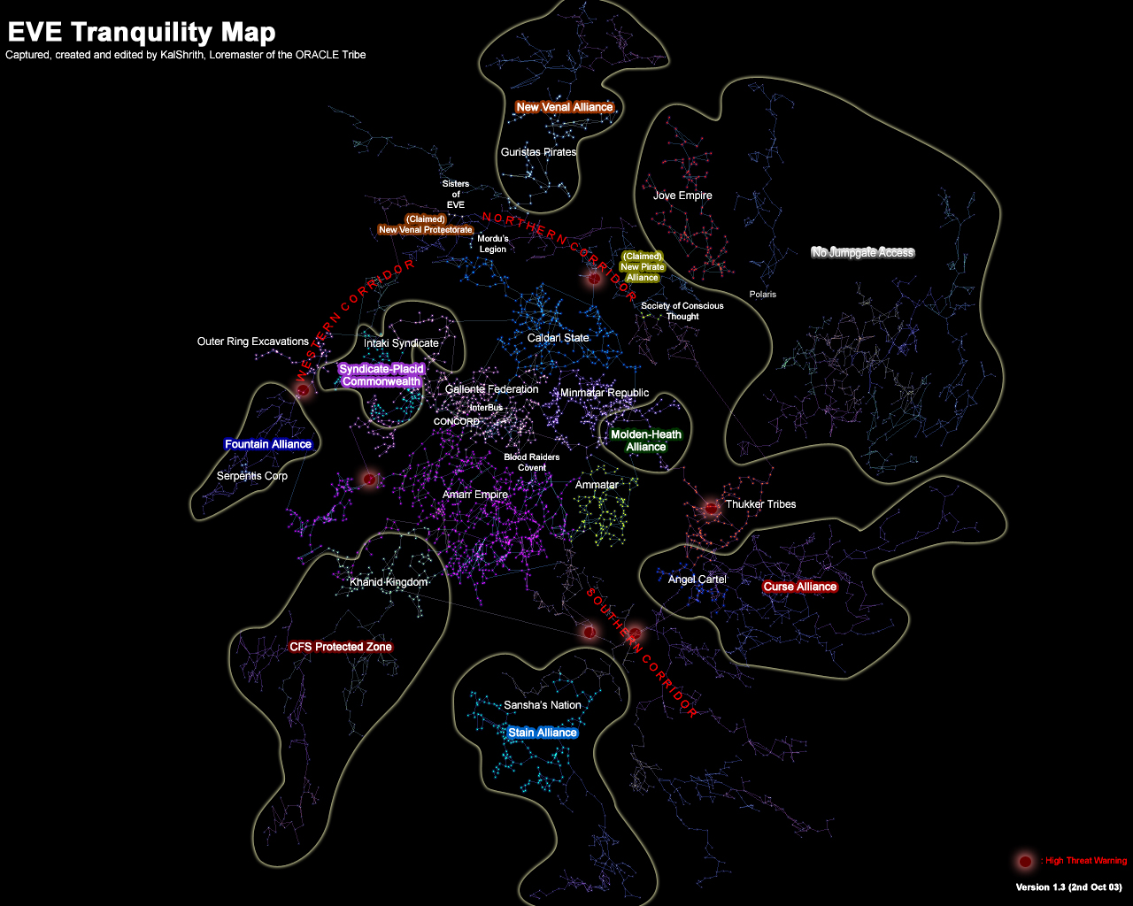EVE Search - EVE Territorial Maps